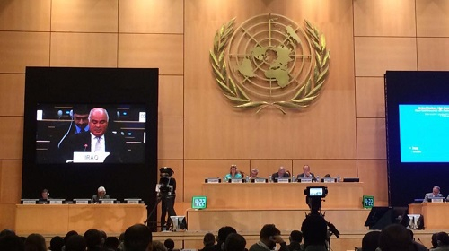 مشاركة العراق في اجتماعات اللجنة التنفيذية لبرنامج المفوض السامي لشؤون اللاجئين